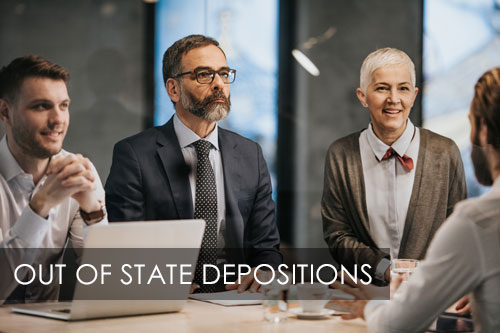 Out of State Depositions