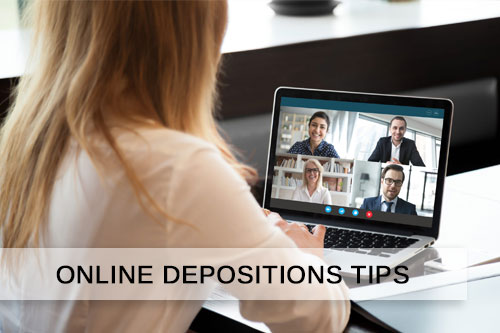 Tips to Conduct Remote Online Depositions